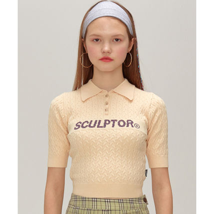 SCULPTOR ニット・セーター 214.[SCULPTOR]Glitter Small Cable Sweater 3カラー(4)