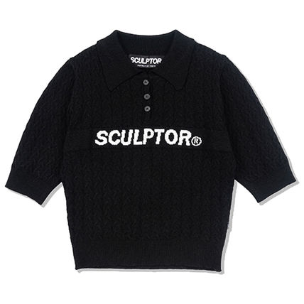SCULPTOR ニット・セーター 214.[SCULPTOR]Glitter Small Cable Sweater 3カラー(5)