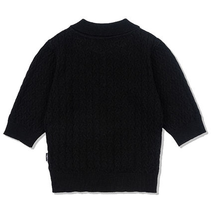 SCULPTOR ニット・セーター 214.[SCULPTOR]Glitter Small Cable Sweater 3カラー(6)
