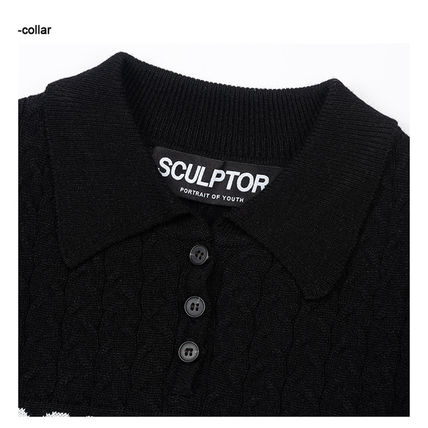 SCULPTOR ニット・セーター 214.[SCULPTOR]Glitter Small Cable Sweater 3カラー(8)