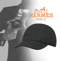 HERMES (エルメス) Casquette Miles キャップ  anthracite
