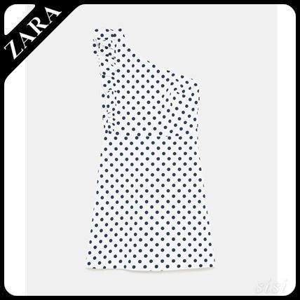セール対象品♪ZARA DRESS WITH FRILL