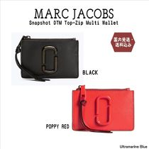 MARC JACOBS【国内発送】Snapshot DTM Top-Zip Multi Wallet☆