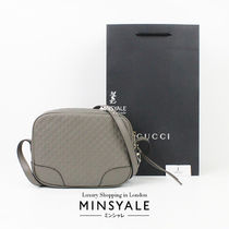 [GUCCI OUTLET] マイクログッチシマ レザー ショルダーバッグ