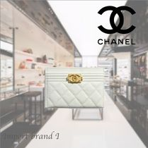 【CHANEL】*シャネル*Card holder BOY CHANEL