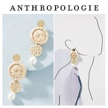 【ANTHROPOLOGIE】新作★Hideaway Straw Drop Earrings