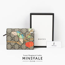 [GUCCI OUTLET] GGスプリーム プリント カードケース