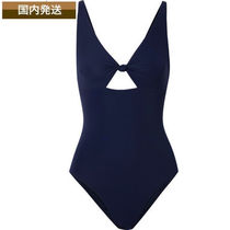 送料関税込☆TORY BURCH☆ワンピ水着 Knotted cutout swimsuit