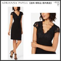 【海外限定】AdriannaPapellドレス☆Bandage Lace Sheath Dress