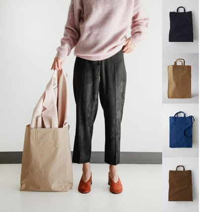 Acne トートバッグ [Acne] Baker grocery totebag 買い物バッグ風トートバッグ 5色
