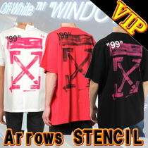 "◆◆VIP◆◆ Off-White ""Arrows"" STENCIL S/S T-SHIRT"