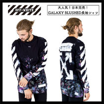 【OFFWHITE】関税込/日本完売/GALAXY BRUSHED L/S TEE/ロンT