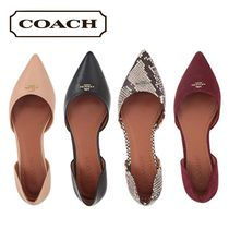 Sale★【Coach】フラット★Pointy Toe Flats