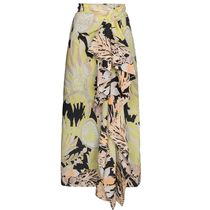 SALE!!【Dries Van Noten】Draped Cotton floral Skirt