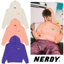 NERDY★Oval Logo Pullover Hoodie