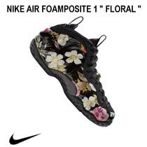 "店舗限定!!! 24cm〜29cmナイキNIKE AIR FOAMPOSITE 1  ""FLORAL"""