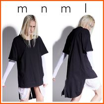 MNML(ミニマル) Tシャツ・カットソー LA発!! 新作!! 【MNML】 WEAPONIZED ONYX ZIPPER BACK TEE