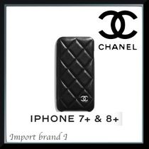 【CHANEL】正規店購入品☆Classic case for iPhone 7+  8+手帳式