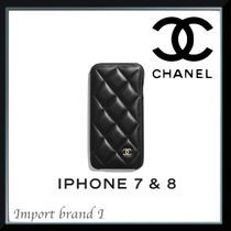 【CHANEL】正規店購入品☆Classic case for iPhone 7 & 8手帳式
