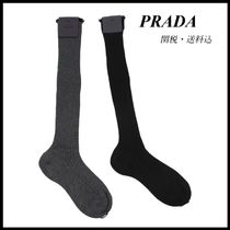 *PRADA*LONG SOCKS 2color 関税/送料込
