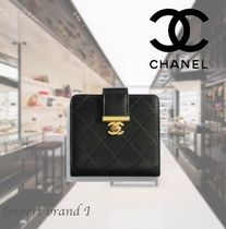 【CHANEL】正規店購入品☆Small wallet*black長財布