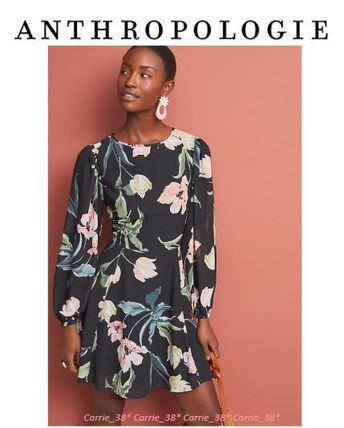 【大人気】Anthropologie* Yumi Kim Westview Dress*花柄ワンピ