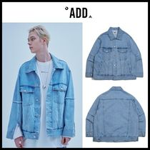☆add☆ ジャケット RAW EDGED DENIM TRUCKER JACKET