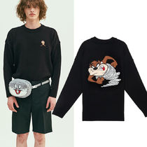 STEREO VINYLS COLLECTION(ステレオビニールズコレクション) ニット・セーター 日本未入荷★[SS19 STEREO X LOONEY TUNES] Patch Knit
