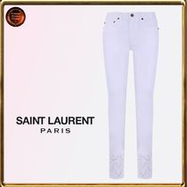 Saint Laurent∮ embroidered+detailスキニージーンズ 関送込!!