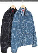 SUPREME19SS★Gonz Map Work Jacket
