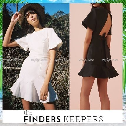 Finders Keepers ワンピース 【安心の国内発送】★Finders Keepers★オープンBACKミニドレスH