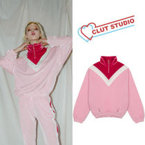 ★CLUT STUDIO★韓国ベルベット 0 3 velvet training zip-up top