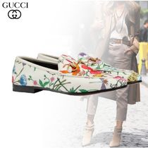 2019SS 新作 GUCCI フローラプリントヨルダンモカシン
