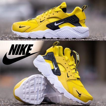 ナイキ☆ Nike Air Huarache Premium Zip Yellow