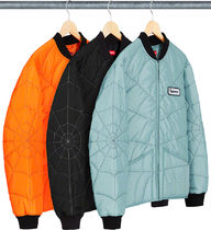 SUPREME19SS★Spider Web Quilted Work Jacket
