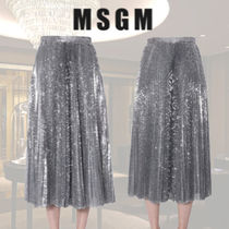 VIP価格【MSGM】SEQUINED MIDI SKIRT 関税込