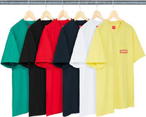 Supreme(シュプリーム) Tシャツ・カットソー SUPREME19SS★Mesh Stripe Pocket Tee