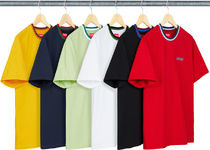 SUPREME19SS★Split Rib S/S Top