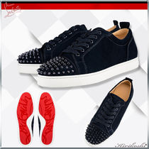 ◆Christian Louboutin 19SS最新作◆Louis Junior Spikes Flat◆