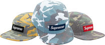 Supreme 19SS Washed Out Camo Camp Cap キャップ シュプリーム