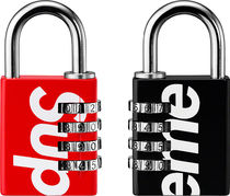 Supreme 19SS Master Lock Numeric Combination Lock 南京錠