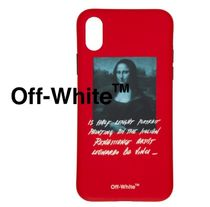 Off-White  レッド モナリザ iPhone X ケース