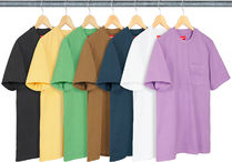 SUPREME19SS★Overdyed Pocket Tee