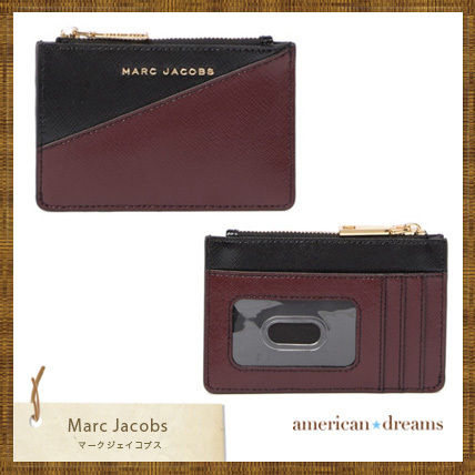 SALE★marc jacobs バイカラーデザイン カード&コインケース