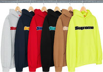 ◆WEEK1◆ SUPREME19SS★Chenille Hooded Sweatshirt