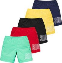 SUPREME19SS★Logo Applique Water Short 水着