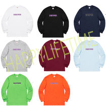 ◆WEEK1◆SUPREME19SS★The Real Shit L/S Tee