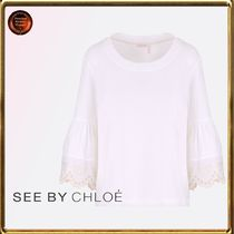 See by Chloe∮  broderie+anglaiseジャージーTシャツ 関送込!!