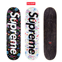【WEEK1】SS19 SUPREME AIRBRUSHED FLORAL SKATEBOARD
