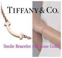 Tiffany♡Smile Bracelet 18k ローズゴールド